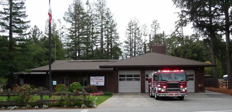 Fire District Plans to Build New Station in Woodside